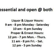 We're Essential!